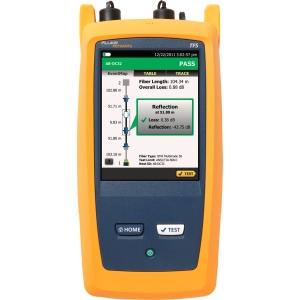 Fluke Networks OptiFiber Pro Quad OTDR Kit with Inspection Kit