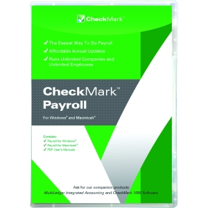 Checkmark Payroll - Financial Management - 6 Box Retail - PC, Mac