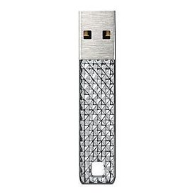 32GB Cruzer Facet Silver Label USB Flash Drive
