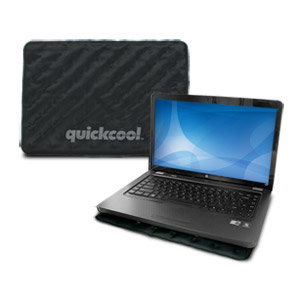 Thermapak QC14A QuickCool Passive Laptop Cooling Pad - Black (One Size Fits Most)