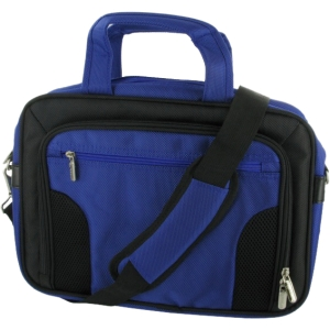 "rOOCASE Deluxe RC-NHB10-BG10-DB Netbook Case - 8.9"" to 11.6"" Screen Support - 12.5"" x 9.5"" x 2.5"" - Nylon - Dark Blue"