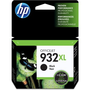 HP 932XL Ink Cartridge - Black - Inkjet - 1 Pack