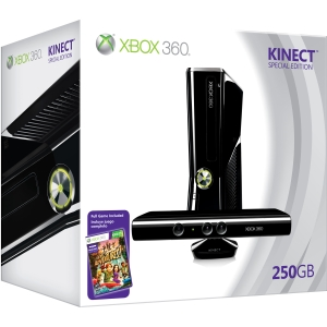 Xbox 360 250 GB Console with Kinect Holiday Value Bundle