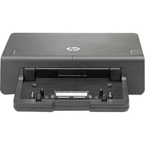 HP 2012 230W Advanced Docking Station - for Notebook - Proprietary Interface - 6 x USB Ports - Network (RJ-45) - DVI - VGA - DisplayPort - Black