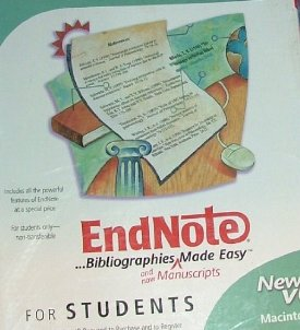 ENDNOTE X6 STUDENT FOR MAC