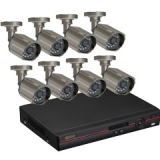 Q-see QC448-818-5 Video Surveillance System - 8 x Digital Video Recorder, Camera - H.264 Formats - 500 GB Hard Drive