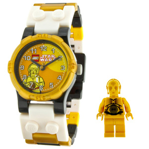 LEGO Kids' Star Wars C3PO Watch - 9002960