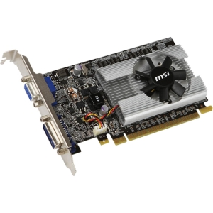 MSI N210-512D2 GeForce 210 Graphic Card - 459 MHz Core - 512 MB GDDR2 SDRAM - PCI Express 2.0 x16 - 532 MHz Memory Clock - Fan Cooler - DirectX 10.1, OpenGL 3.1 - DVI