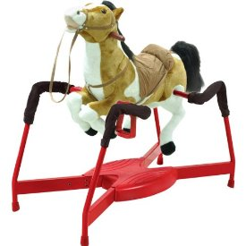 Radio Road Toys Spring Horse with Sound and Motion