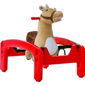 ROCK & BOUNCE PONY WITH SOUND & MOTION