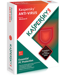Kaspersky Anti-Virus 2013 - 3 User Family Pack