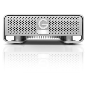 G-Technology G-DRIVE 4 TB External Hard Drive - Silver - USB 3.0, FireWire/i.LINK 800 - SATA - 7200 rpm - 64 MB Buffer