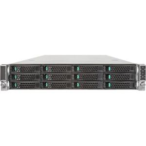 Intel Server System R2312GZ4GC4 Barebone System - 2U Rack-mountable - Socket R LGA-2011 - 2 x Processor Support - 768 GB Maximum RAM Support - Serial ATA/300 - Intel Graphics Integrated - 12 x Total Bays - 6 x Total Expansion Slots - Processor Support (Xe