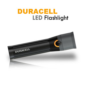 Duracell Daylite Tough LED Flashlight with 4-AA Alkaline Batteries