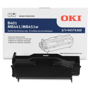 Oki MB451w MFP Image Drum - LED Imaging Drum - Black - 25000 Page