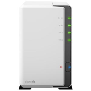 Synology DiskStation DS213air Network Storage Server - 1.66 GHz - USB, RJ-45 Network