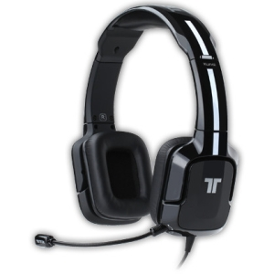 Tritton Kunai Stereo Headset For Playstation 3 and PS Vita - Stereo - Black - Mini-phone, RCA - Wired - 16 Ohm - 25 Hz - 20 kHz - Over-the-head - Binaural - Ear-cup