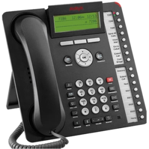Avaya-IMBuyback 1416 Standard Phone - Black - 1 x Phone Line - Speakerphone - Backlight