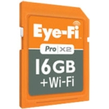 Eye-Fi Pro X2 16 GB Secure Digital High Capacity (SDHC) - 1 Card - Bulk - Class 10