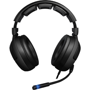 Roccat Kave Headset - Surround - Mini-phone - Wired - 20 Hz - 20 kHz - Over-the-head - Binaural - Ear-cup - 11.15 ft Cable