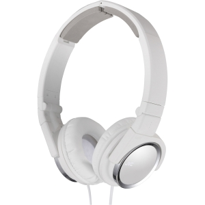JVC HA-S400-W Headphone - Stereo - White - Mini-phone - Wired - 36 Ohm - 10 kHz 24 kHz - Gold Plated - Over-the-head - Binaural - Circumaural - 3.94 ft Cable