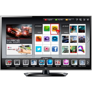 "LG 47LS579C 47"" 1080p LED-LCD TV - 16:9 - HDTV 1080p - 120 Hz - ATSC - 178° / 178° - 1920 x 1080 - Surround Sound, Dolby Digital - 4 x HDMI - USB - Ethernet"