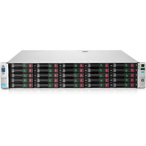 HP ProLiant DL380e G8 686204-S01 2U Rack Server - 2 x Intel Xeon E5-2440 2.4GHz - 2 Processor Support - 32 GB Standard/192 GB Maximum RAM - Serial ATA/300 RAID Supported, 6Gb/s SAS Controller - Gigabit Ethernet - RAID Level: 0, 1, 1+0, 5, 5+0