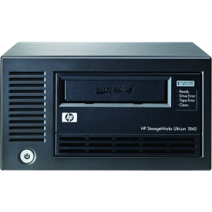 "HP LTO-4 Ultrium 1840 SCSI External WW Tape Drive - 819.20 GB (Native)/1.60 TB (Compressed) - SCSI - 5.25"" Width - 1/2H Height - External"