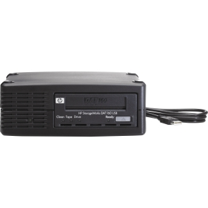 "HP DAT 160 USB Internal Tape Drive - 80 GB (Native)/160 GB (Compressed) - 5.25"" Width - 1/2H Height - Internal"
