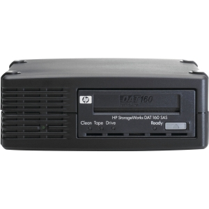 HP DAT 160 SAS External Tape Drive (Q1588B) - 80 GB (Native)/160 GB (Compressed) - SAS - 5.25&quot; Width - 1/2H Height - External