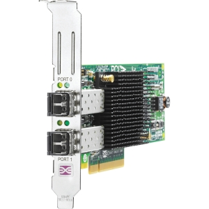 HP 82E 8Gb 2-port PCIe Fibre Channel Host Bus Adapter (AJ763B) - 2 x LC - PCI Express 2.0 x4 - 8 Gbps