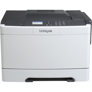 Lexmark CS410DN Laser Printer - Color - 2400 x 600 dpi Print - Plain Paper Print - Desktop - 32 ppm Mono / 32 ppm Color Print - 250 sheets Input - Automatic Duplex Print - LCD - Fast Ethernet - USB