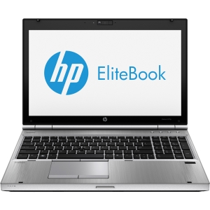 HP EliteBook 8570p C6Z57UT 15.6&quot; LED Notebook - Intel - Core i5 i5-3210M 2.5GHz - Platinum - 1366 x 768 HD Display - 4 GB RAM - 500 GB HDD - DVD-Writer - Intel HD 4000 Graphics - Bluetooth - Webcam - Finger Print Reader - Genuine Windows 7 Professional (E