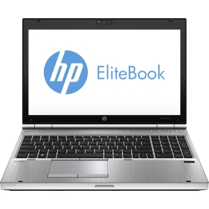 "HP EliteBook 8570p C6Z59UT 15.6"" LED Notebook - Intel - Core i5 i5-3320M 2.6GHz - Platinum - 8 GB RAM - 180 GB SSD - Genuine Windows 8 - DisplayPort"