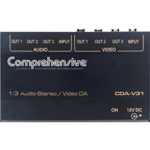Comprehensive CDA-V31 Video Splitter - 1 x 3