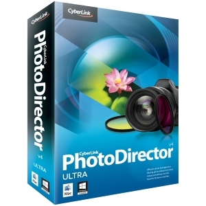 Cyberlink PhotoDirector v.4.0 Ultra - Complete Product - 1 User - Image Editing - Standard Retail - DVD-ROM - PC, Intel-based Mac