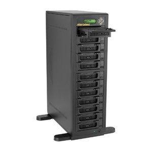Image of Aleratec 1:11 HDD Copy Cruiser IDE/SATA - 11 HDD Duplicator and 12 HDD Sanitizer