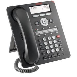 Avaya-IMBuyback 1408 Standard Phone - Black - 1 x Phone Line - Speakerphone - Backlight