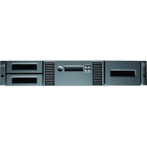 HP MSL2024 1 LTO-4 Ultrium 1760 SAS Tape Library (AK378B) - 19.20 TB (Native) / 38.40 TB (Compressed) - SAS