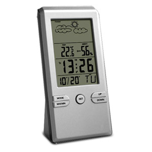 Digital Alarm Clock with Weather Station (EC 18276)