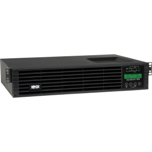Tripp Lite SU750RTXLCD2U UPS System - 750 VA/675 W - 2UTower/Rack Mountable 0.05 Hour Full Load - 6 x NEMA 5-15R