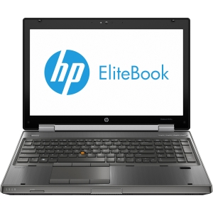 "HP EliteBook 8570w C6Y98UT 15.6"" LED Notebook - Intel - Core i7 i7-3630QM 2.4GHz - Gunmetal - 8 GB RAM - 500 GB HDD - DVD-Writer - NVIDIA Quadro K1000M Graphics - Genuine Windows 7 Professional (English) - DisplayPort"