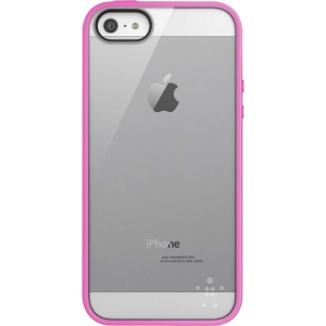 Belkin View Case for iPhone 5 - iPhone - Day Glow, Clear - Thermoplastic Polyurethane (TPU), Polycarbonate