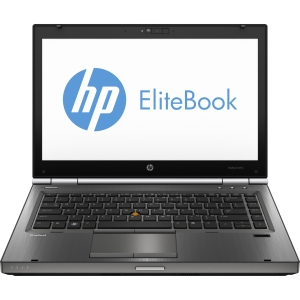 "HP EliteBook 8470w C6Z10UT 14"" LED Notebook - Intel - Core i5 i5-3360M 2.8GHz - Gunmetal - 4 GB RAM - 500 GB HDD - DVD-Writer - AMD FirePro M2000 Graphics - Genuine Windows 7 Professional (English) - DisplayPort"