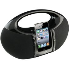 iLive IBP182B Speaker System - Black - iPod Supported