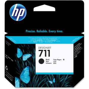 HP 711 Ink Cartridge - Black - Inkjet