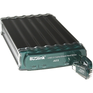 Buslink CipherShield CSE-4T-SU3 4 TB External Hard Drive - USB 3.0, eSATA - SATA