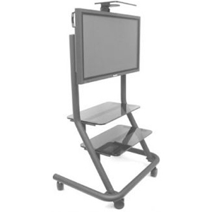 Chief PPCU Flat Panel Presenters Cart - Black