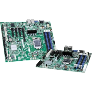 Intel S1200BTSR Server Motherboard - Intel C202 Chipset - Socket H2 LGA-1155 - 10 x OEM Pack - Micro ATX - 1 x Processor Support - 32 GB DDR3 SDRAM Maximum RAM - Serial ATA/300 RAID Supported Controller - CPU Dependent Video - 1 x PCIe x16 Slot