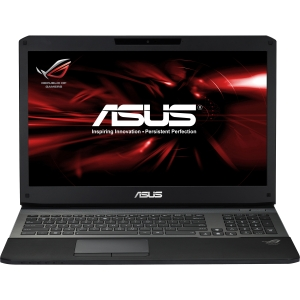 "Asus G75VW-DH72 17.3"" LED Notebook - Intel Core i7 i7-3630QM 2.40 GHz - Black - 16 GB RAM - 750 GB HDD - Blu-ray Reader/DVD-Writer - NVIDIA GeForce GTX 670M Graphics - Genuine Windows 8 - HDMI - DisplayPort"